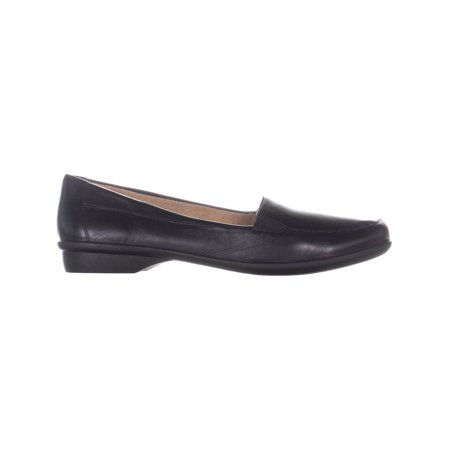 naturalizer Panache Slip On Flats Loafers, Black Leather - image 2 of 6