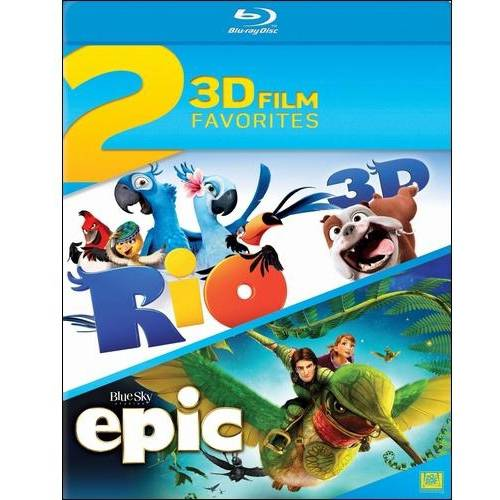 3D Film Favorites: Rio / Epic (3D Blu-ray)