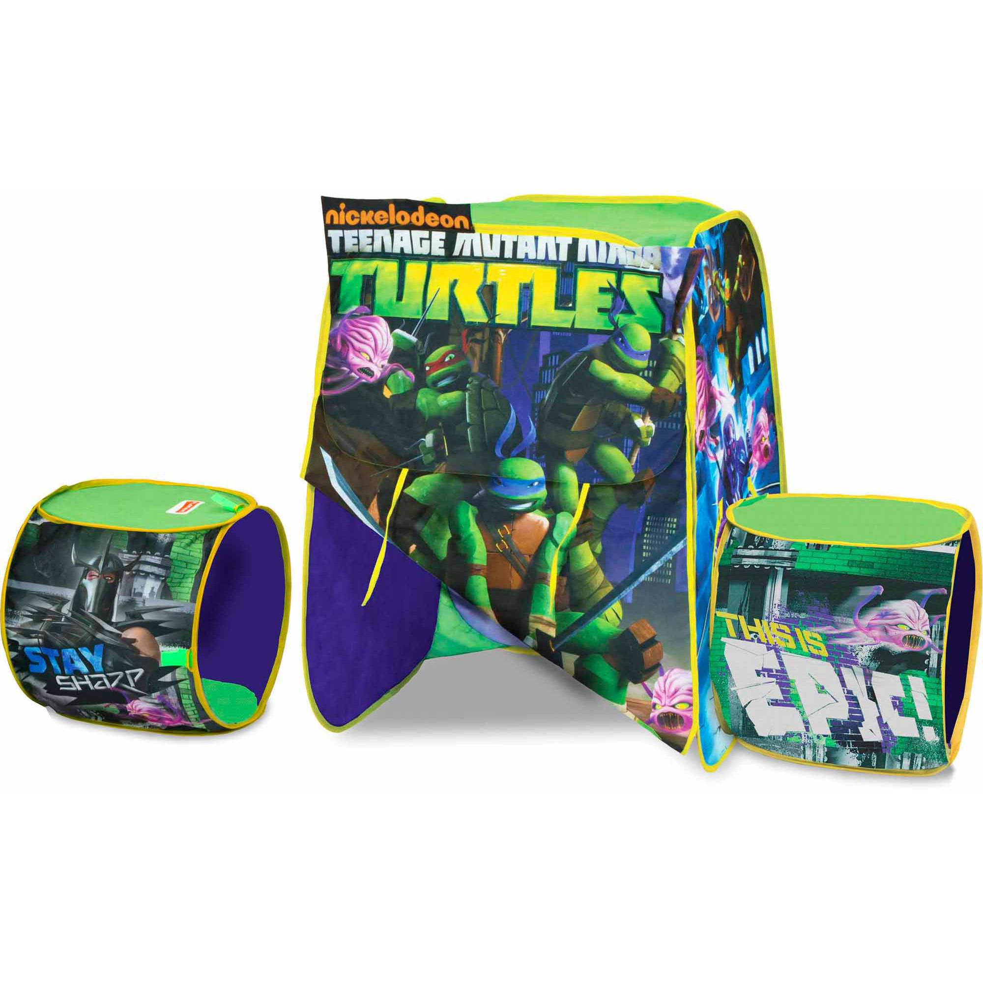 Playhut Nickelodeon Teenage Mutant Ninja Turtles New Adventure Play Tent