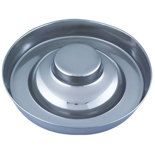 "QT Dog, Puppy Stainless Steel Saucer, 11"" Diameter"