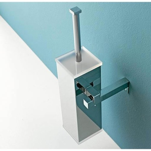 Toscanaluce by Nameeks Wall MountedToilet Brush and Holder
