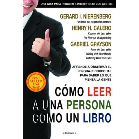 Cómo leer a una persona como un libro - eBook