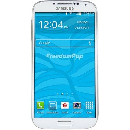 100% FREE MOBILE PHONE SVC W/ FREEDOMPOP SAMSUNG GALAXY S4