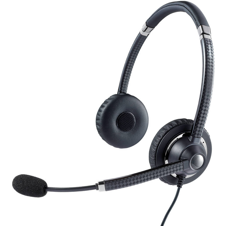 Jabra UC Voice 750 MS Duo Lync Optimized Corded Headset for Softphone