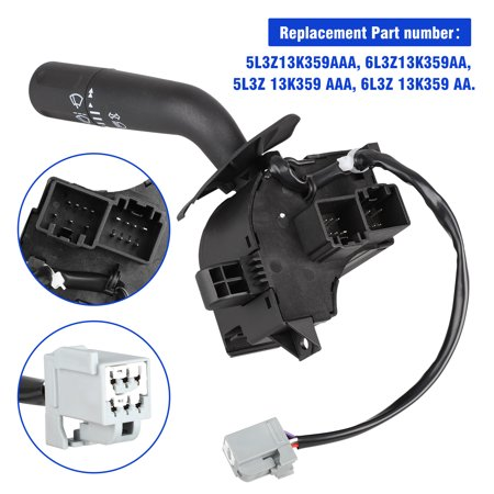 EEEkit Turn Signal Wiper Dimmer Combination Lever Switch for 05-08 Ford F150, 2006 2007 2008 Lincoln Mark LT 06-08 Turn Signal (2007 Ford F150 Fx2 Sport For Sale)