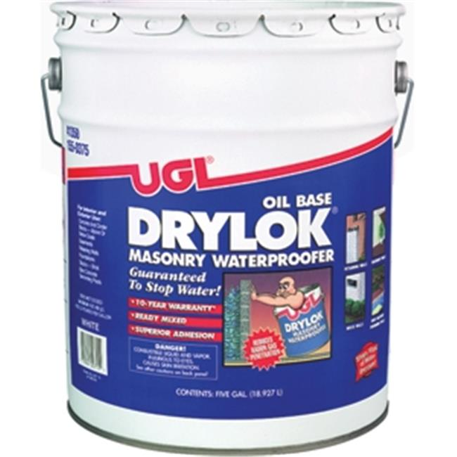 UGL 207 5 Gallon Oil Base Drylok Masonry Waterproofer Ready Mixed, White