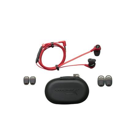HyperX Nintendo Switch, In-Ear Ear Buds, Red, HX-HSCEB-RD