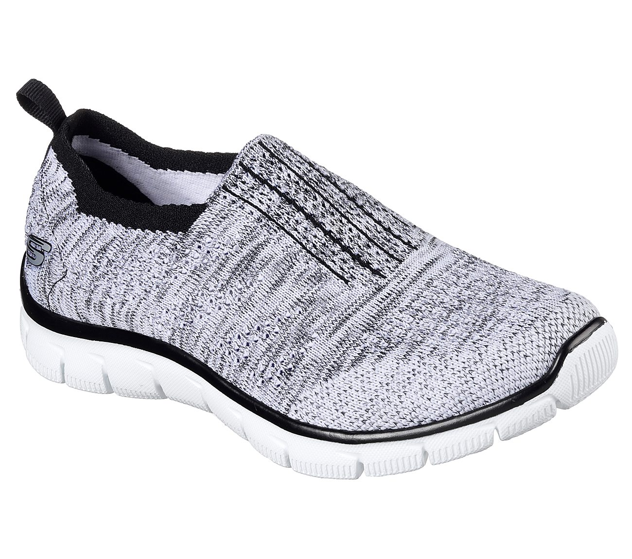 Skechers 12419WBK Women's Empire - Inside Look - Walking Shoes