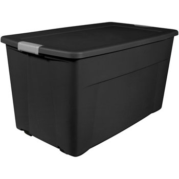 Set-of-4 Sterilite 45-Gallon Wheeled Latch Storage Box