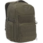 SJK Rampage 30 Liter Tactical Military Hiking Day Pack Backpack, Green