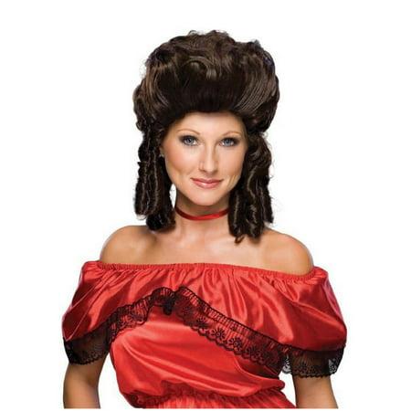 Halloween Brown Historical Women's Wig - Historical Halloween Photos