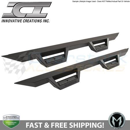 (ICI Magnum RT Black Step Bars 16-2017 Dodge Ram 1500 2500 3500 Crew Cab RTS31DG)