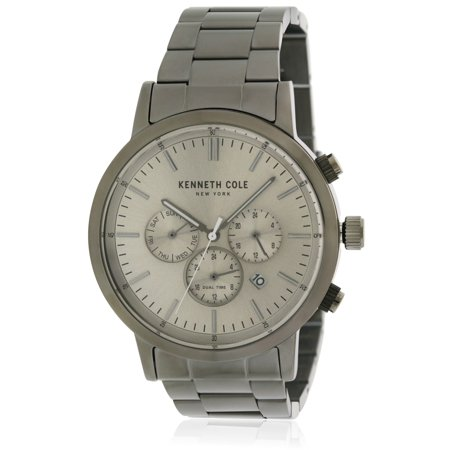 Kenneth Cole Chronograph Bracelet (Kenneth Cole Stainless Steel Chronograph Mens Watch KCC0133003)