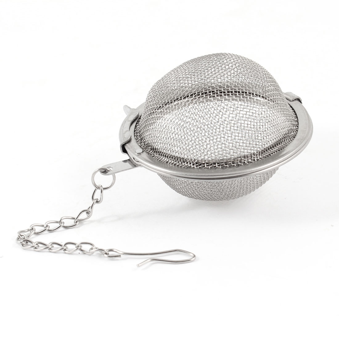 """2"""" Dia Stainless Steel Silver Tone Tea Infuser Mesh Ball Tea Strainer by"""