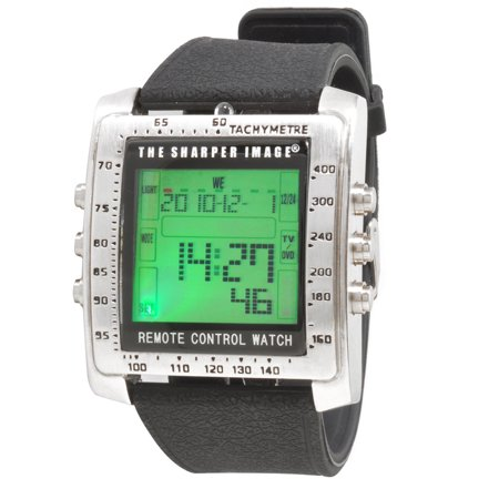 Sharper Image Control Freak Digital Remote Control (Best Radio Controlled Watches)