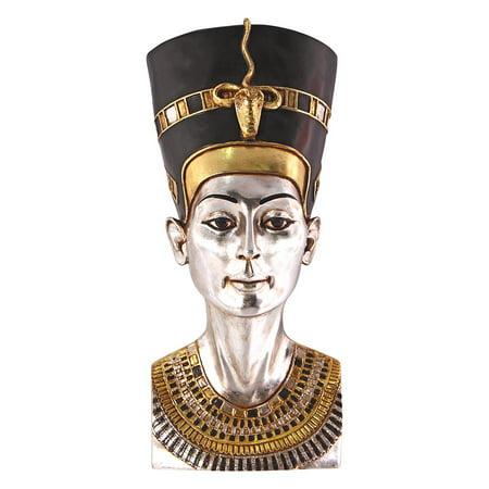 Design Toscano Grand-Scale Egyptian Queen Nefertiti Wall Sculpture