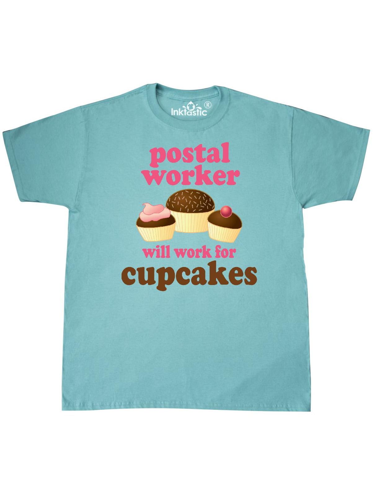 Inktastic Postal Worker Funny T Shirt Walmart Com Walmart Com