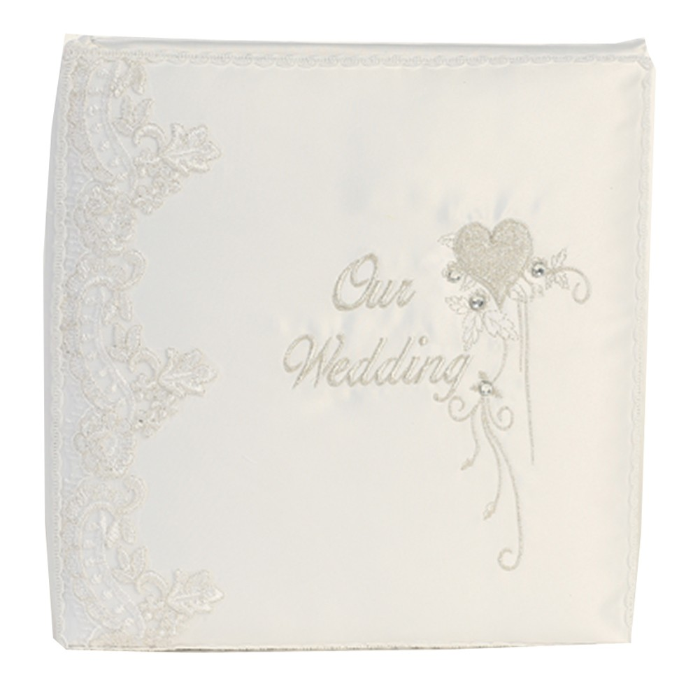 """Angels Garment White Heart Detail """"Our Wedding"""" Graphics Photo Album by Angels Garment"""