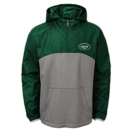 "NFL Youth New York Jets ""Convex"" 1/4 Zip Jacket"
