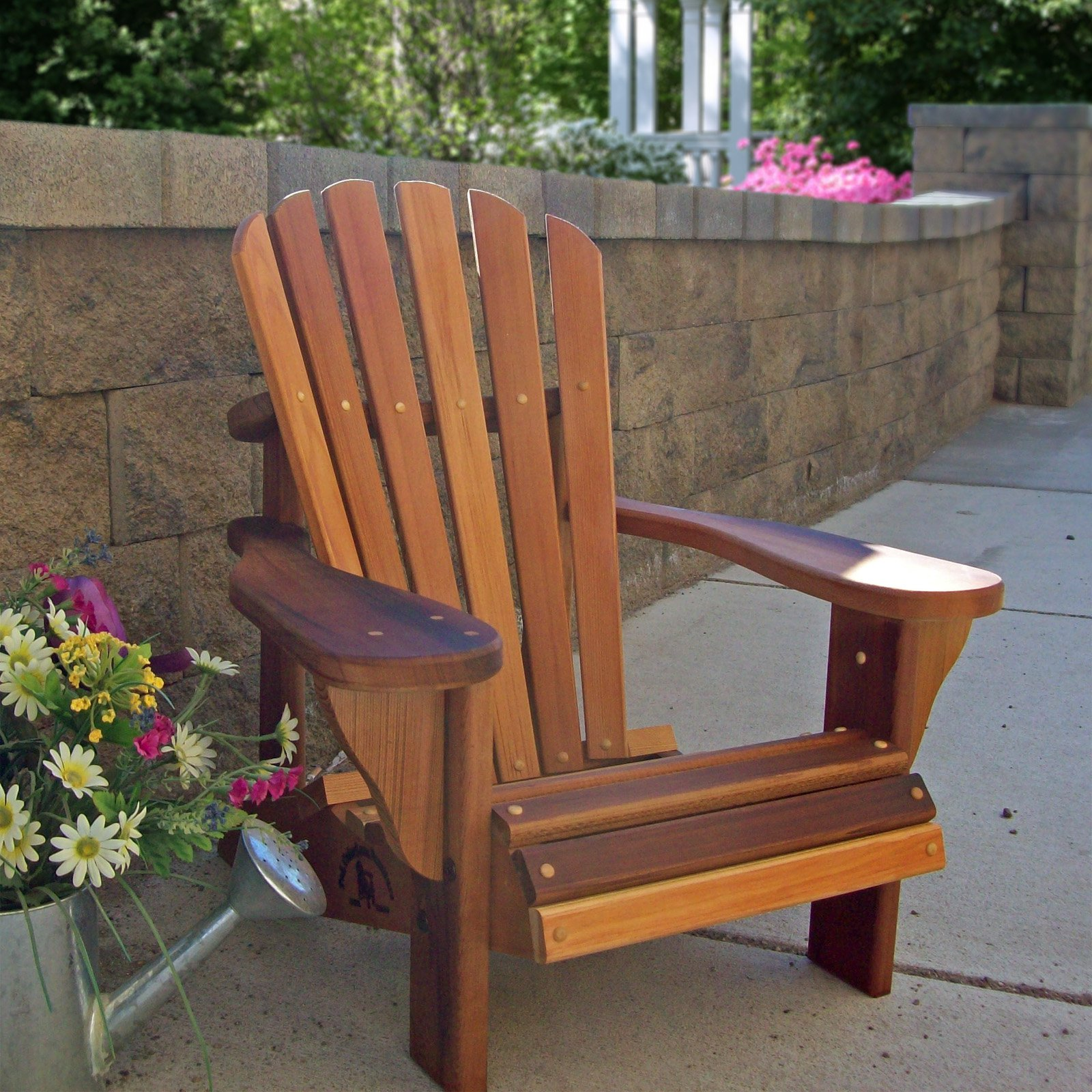 Wood Country Childrens Cedar Adirondack Chair   Walmart.com