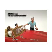 American Diorama 77706 Gas Station Attendant Tom Figure for 1-18 Diecast Model Cars