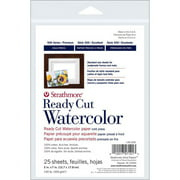 """Strathmore Watercolor Paper 500 Series Hot-Press, 5"""" x 7"""", 25 Sheets"""