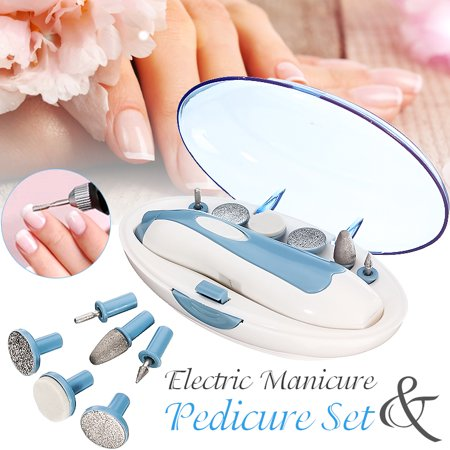 Electric Nail File Drill Kit Manicure Nail Grooming Kit Multi-function Pedicure Machine