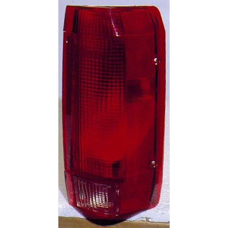 For Ford F150 Pickup 10/89 -98/Bronco 10/89-96 Tail Light Assembly Unit Styleside Type Passenger Side (DOT Certified)