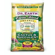 Dr. Earth Organic & Natural Exotic Blend Cactus & Succulent Potting Mix, 8 QT