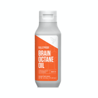 Bulletproof Brain Octane MCT Oil, Perfect for Keto and Paleo Diet, 100% Non-GMO Premium C8 Oil, Ketogenic Friendly, Responsibly Sourced from Coconuts Only, (16 oz)