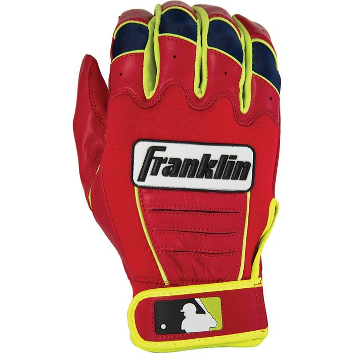 Franklin Sports MLB CFX Pro Batting Gloves, Pearl Black (2015) by Franklin