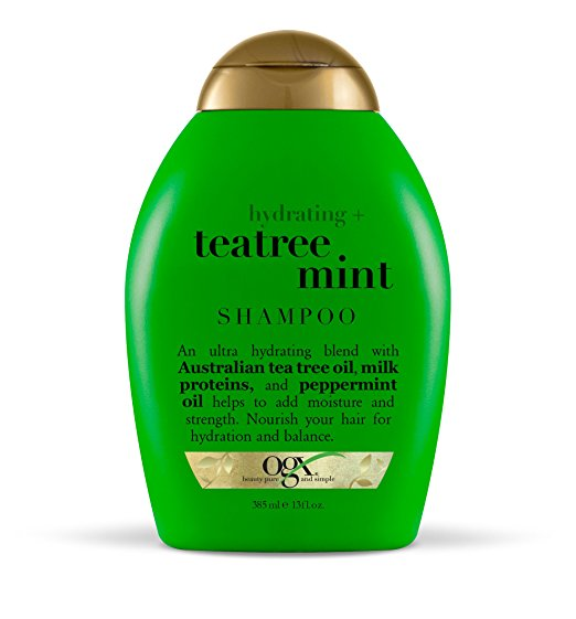 OGX Organix Hydrating Tea Tree Mint Shampoo, 13 Fl Oz