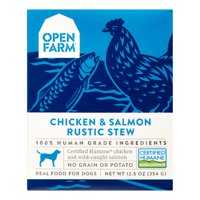 Open Farm Chicken & Salmon Rustic Dog Stew, 12.5 Oz, Pack of 12