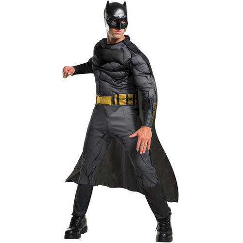 Dawn Of Justice  Batman  Mens Muscle Chest Halloween Costume  sc 1 st  Walmart & Dawn Of Justice