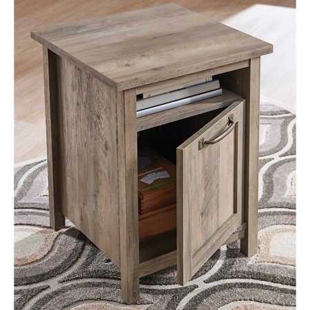 Better Homes & Gardens Modern Farmhouse Side Table, Rustic Gray Finish