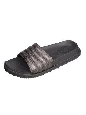 f70702ee3d0f92 Product Image Boys Open Toe Flip Flop Beach Slide Slipper With Strong Sole  and Rippled Over Foot (