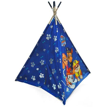 Paw Patrol Teepe Play Tent With Bonus Carry Bag
