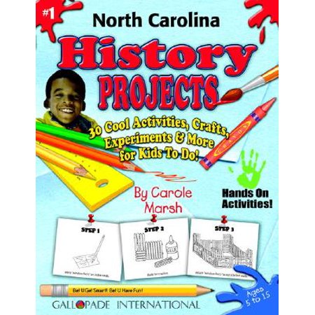 North Carolina History Projects - 30 Cool Activities, Crafts, Experiments & More