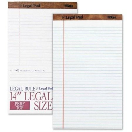 Perforated Pad  8 1 2 X 14 In  Pk 12