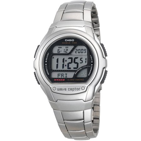 Atomic Digital Watch Silver