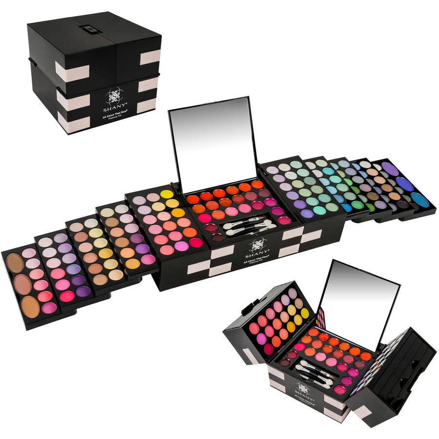 shany makeup kit. shany all about the face makeup kit, 151 pc shany kit a