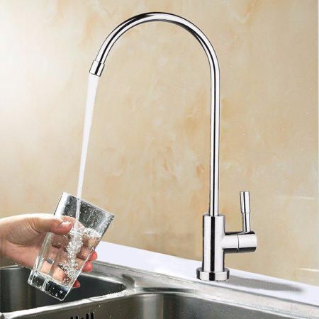 MOHOO 360  Rotation 304 Stainless Steel 1 4  Chrome Reverse Osmosis ROMOHOO 360  Rotation 304 Stainless Steel 1 4  Chrome Reverse  . Water Filter Faucet Stainless Steel. Home Design Ideas