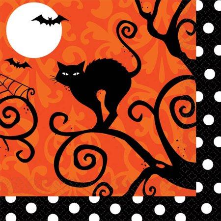 Frightfully Fun Halloween Crafts Cooking (Frightfully Fancy Halloween Beverage Napkins (36)