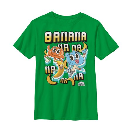 The Amazing World of Gumball Boys' Banana Joe Song T-Shirt (The Amazing World Of Gumball The Skull)