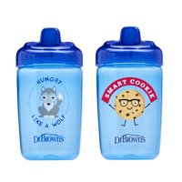 Dr. Brown's Milestones Hard Spout Sippy Cup, 12 ounce, Blue, 2 Count
