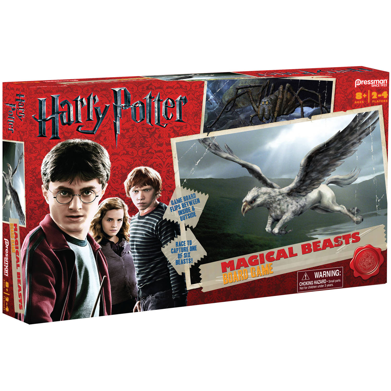 Harry Potter Magical Beasts Board Game by Pressman Toy