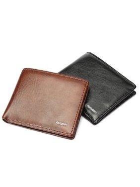 Wallets For Men Bifold Card Holder Coin Bag Purse Clutch Pockets