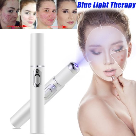 Yosoo Blu-ray Acne Removing Pen,Blu-ray Acne Removing Instrument Freckle Mole Dark Spot Removal Machine Skin Face Beauty Pen, Mole Removing Pen,Skin Care Beauty (Best For Acne Dark Spots)