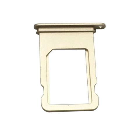 uk availability 7d19e a606d iPhone 7 4.7 Replacement Sim Card Tray Reader Holder Slot - Gold