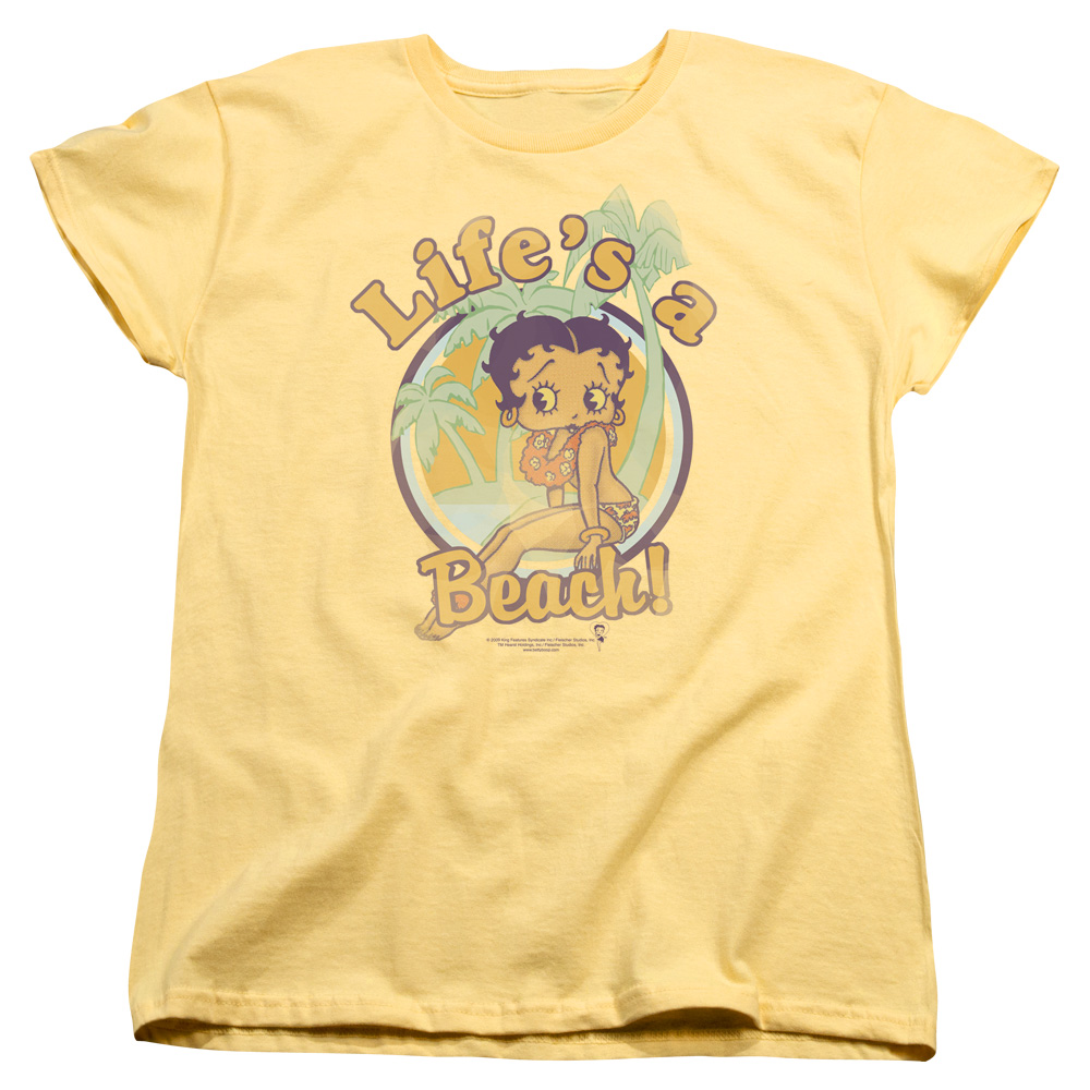 Betty Boop Halloween Womens Black Medical Smock Nurse Scrubs Shirt ...